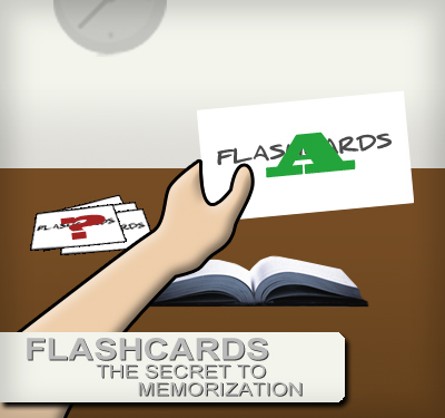 How to use flashcards to memorize when you don't have time to study