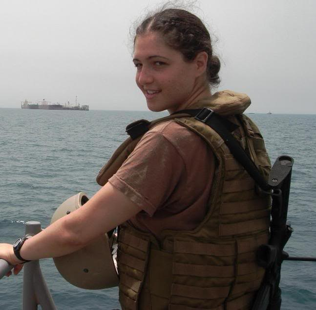 Leah Fisch on military deployment