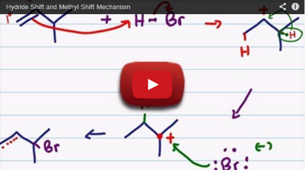 hydride shift methyl shift tutorial video
