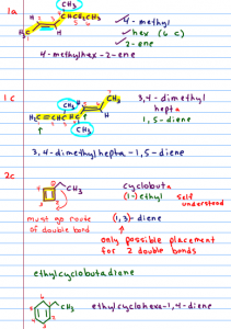 Organic Chemistry Tutor Notes