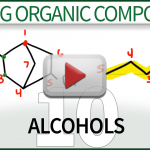 Naming Alcohols Video Tutorial Leah4sci Organic Chemistry