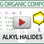 Naming Alkyl Halides Video Tutorial by Leah4sci