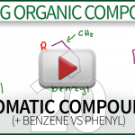 Naming Aromatic Compounds Benzene Phenyl Tutorial Leah4sci Orgo