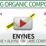 Naming Enynes Video Tutorial Organic Chemistry Leah4sci