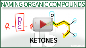Naming Ketones Tutorial Video Leah4sci Orgo