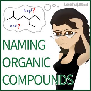 Naming Organic Compounds Tutorial Video Series by Leah4sci