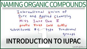 Nomenclature IUPAC Video Leah Fisch
