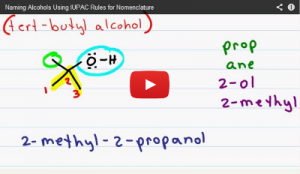 Nomenclature Tutorial Video 10 alcohols