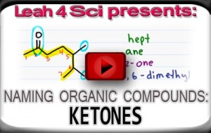 Nomenclature Tutorial Video 15 ketones
