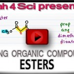 Nomenclature Tutorial Video 17 esters