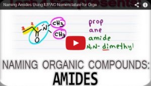 Nomenclature Tutorial Video 19 amides