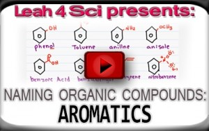Nomenclature Tutorial Video 20 aromatics