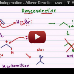 halohydrin formation alkene reaction mechanism tutorial video