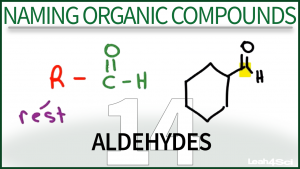 Nomenclature Aldehydes Tutorial Video Leah Fisch Organic Chemistry