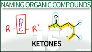 Nomenclature Ketones Organic Chemistry Tutorial Video Leah Fisch