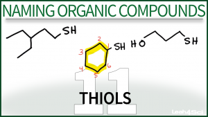 Nomenclature Thiols Video Tutorial Leah Fisch Orgo
