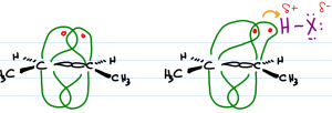 Nucleophilicity In Pi Bond Electrons