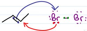 alkene halogenation intermediate