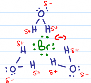 caged bromine in halohydrin formation