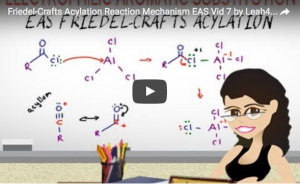 Friedel Crafts Acylation EAS Reaction and Mechanism Video