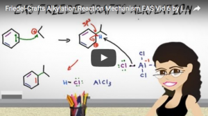 Friedel Crafts Alkylation EAS Reaction and Mechanism Video