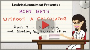 mcat math video 2 multiplication and division unit of 10