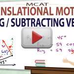 Adding Dimensional MCAT Vectors Angles and Vector Translational Motion Video by Leah4sci