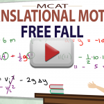 Free Fall in MCAT Kinematics Translational Motion Video by Leah4sci