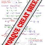 MCAT Torque Study Guide Cheat Sheet preview