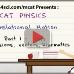 mcat physics intro to translational motion
