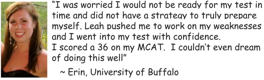 erin mcat score testimonial