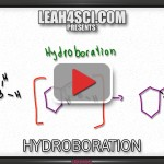 hydroboration oxidation alkene reaction mechanism tutorial video
