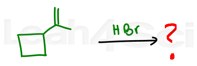 hydrobromination with ring expansion and methyl shift