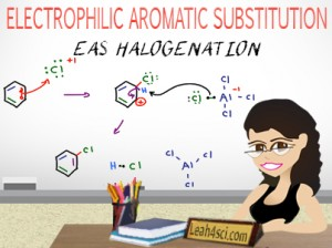 Aromatic Halogenation Electrophilic Aromatic Substitution
