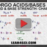 Charge ranking acids and bases in organic chemistry tutorial video