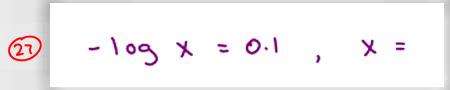 MCAT Math Practice Question 27