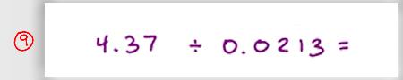 MCAT Math Practice Question 09
