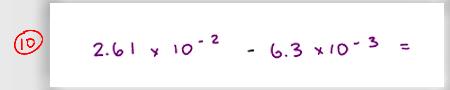 MCAT Math Practice Question 10