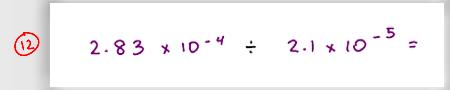 MCAT Math Practice Question 12