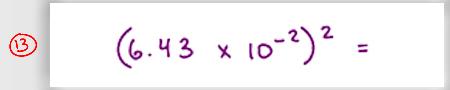 MCAT Math Practice Question 13