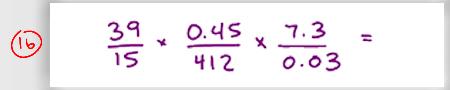 MCAT Math Practice Question 16