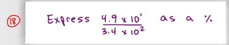 MCAT Math Practice Question 18