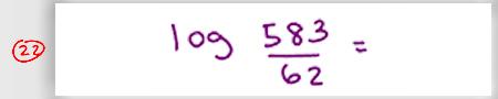 MCAT Math Practice Question 22