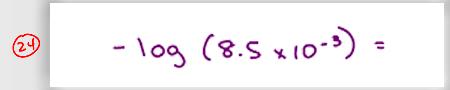 MCAT Math Practice Question 24