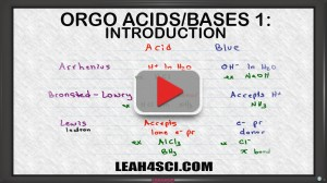 introduction to acids and bases in organic chemistry