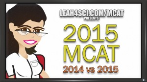 2014 mcat vs 2015 mcat comparison of sections, topics, scores and time