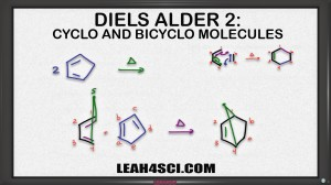 Diels Alder Cyclo and Bicyclo Molecules