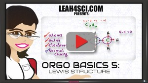 Lewis Structures in Organic Chemistry Video 5
