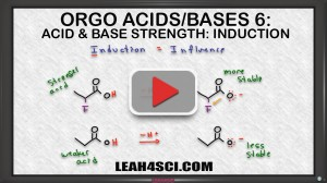 inductive effect on acid base strength in organic chemistry 1