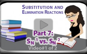 Choosing Between SN1 and SN2 Reactions Part 1 Tutorial Video